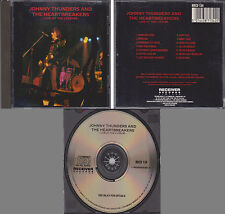 JOHNNY THUNDERS & THE HEARTBREAKERS Live at the Lyceum 1990 Receiver Records CD