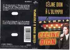 K7 AUDIO (TAPE)  CELINE DION *A L'OLYMPIA*