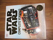 new star wars complete vehicles hardback book christmas present