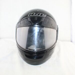HJC LS AIR 3 mens snowmobile helmet black full visor Snell/Dot approved size MED