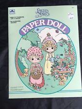 VINTAGE Precious Moments Paper Dolls, Golden Book, 1992, UNCUT