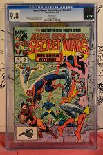 Marvel Super Heroes Secret Wars #3 CGC 9.8 1st Appearance Volcana