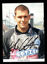 Thorsten Albustin Autogrammkarte MSV Duisburg 1997-98 Original Signiert+A 142436