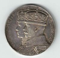 KING GEORGE V QUEEN MARY SILVER JUBILEE MEDAL STET FORTUNA DOMUS TONED