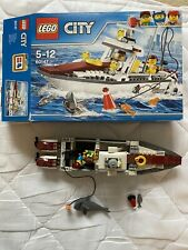 Lego City Fishing Boat 60147 Includes Box Includes Instructions