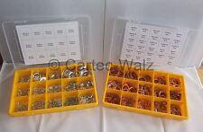 Kupferringe Dichtringe Dichtung Kupferdichtring Sortiment 540 teilig