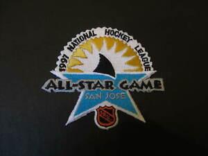 1997 SAN JOSE SHARKS ALL STAR GAME NHL HOCKEY BADGE CREST PATCH