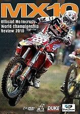 MX10 - WORLD MX CHAMPIONSHIP REVIEW 2010 (2 DVD Set) Brand New FREE POSTAGE