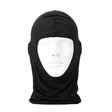 Outdoor Motorcycle Cycling Ski Neck protecting lycra Balaclava Full Face Mask BK