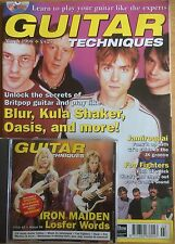 Guitar Techniques magazine and CD March 1998