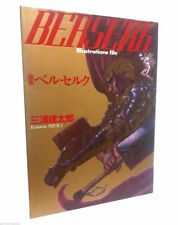 Berserk Illustrations File Kentarou Miura Art Book Japanese Anime Gutz