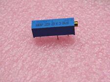 Lot x10: Résistance ajustable cermet potentiomètre Trimmer type T18 22k 22 kohms