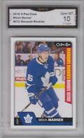 GMA 10 Gem Mint MITCHELL MITCH MARNER 2016/17 O-Pee-Chee OPC ROOKIE Card LEAFS!