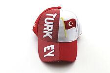 EM/WM Baseballcap Caps Mütze Base Cap Türkei Turkey Landesname in 3D Optik
