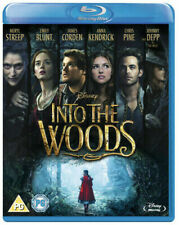 Into the Woods Blu-Ray (2015) NEW