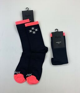 RAPHA Club House Chicago Socks Size XL 2 Pairs New