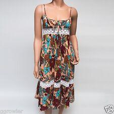 Le Shack Crochet Floral Low Cut Sun Dress $280 US2