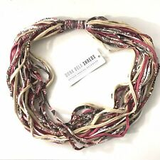 Dona Bela Shreds Handmade Textile Remnants Neck Wear Accessories Made in USA New
