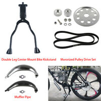 Motorized Pulley Drive Set Part For 66cc 80cc 2 Stroke Engine Motorised Bicycle