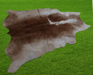 """100% New Cowhide Rugs Area Cow Skin Leather (49"""" x 49"""") Cow hide SA-7031"""