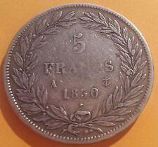 FRANCE - Monnaie de 5 francs type Louis Philippe de 1830 A Tranche creux