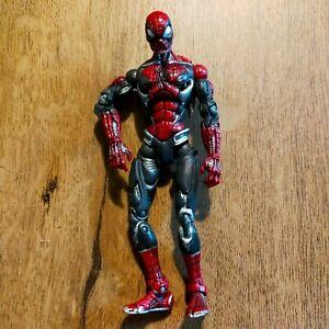 "Marvel Legends Classics Cyber Spider-Man 6"" Action Figure Toybiz Mech Robot 2004"
