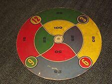 "VINTAGE TOY GAME TRANSOGRAM DART GAMES 17 1/4"" ACROSS BOARD"