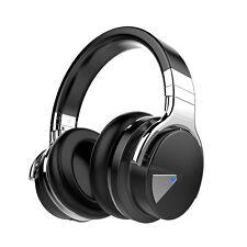 Auriculares Sobre las Orejas Cowin E7 Bluetooth inalámbrico y 30 horas tiempo de juego estéreo NFC