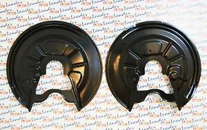 1K0615611P : Skoda OctaviaSuperb - PAIR of Rear Brake Dust Shields / Guards NEW