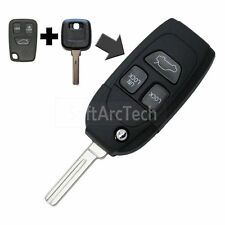 Flip Key Shell fit for Refit VOLVO S40 V40 S80 XC70 3 Button Remote Fob S780B
