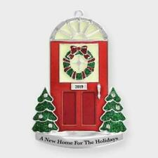 2019 1St~First Christmas~A New Home For The Holidays Red Door Ornament~Nib