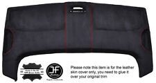 RED STITCH STORAGE ROOF HEADLINING PU SUEDE COVER FITS VW CADDY MK3 05-15
