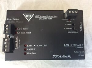 DSX ACCESS SYSTEMS SECURITY BADGE ACCESS DOOR CONTROL ETHERNET MODULE DSX-LAN-M
