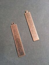 Metal Stamping Blanks Rectangle Stamping Blanks Copper Blanks Hand Stamping