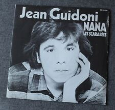Jean Guidoni, nana / les scarabées, SP - 45 tours France