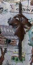 Antique German Black Forest Cuckoo Clock Pendulum