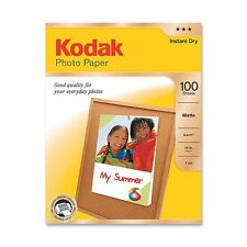 Kodak Photo Paper, Matte, 39 lbs., 8-1/2 x 11, 100 Sheets/Pack, Pk - Kod8318164