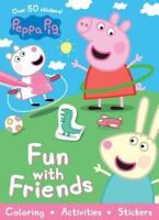 Peppa Pig Sticker Activity Coloring Book Peppa Pig Fun with Friends Paperback