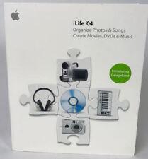 Apple iLife '04 cod.M9364T/A usato suite completa + guida.