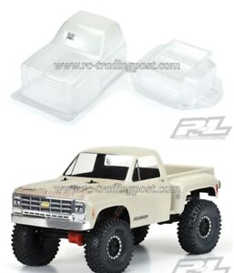 "1978 Chevy K-10 Clear Body for 12.3"" (313mm) Wheelbase Scale Crawlers"