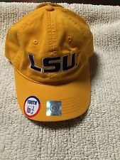 LSU Youth Size Adjustable Fit Hat by The game