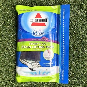 1 Pack Bissell Febreze SPRING & RENEWAL Stain Lifting 5 Pads Total