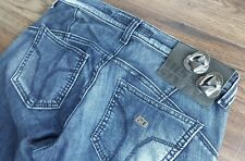 MISS SIXTY DISTRESSED BLUE JEANS USA 2 TO 4 SIZE 26