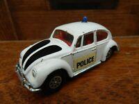 Corgi Toys Whizzwheels no.373 Volkswagen 1200 Police Car - Beetle