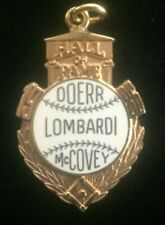 1986 Baseball Hall of Fame Induction Press Pendant HOF Official Willie McCovey