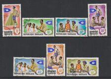 Togo - 1976, Togolese Scouts / Scouting set - F/U - SG 613/19 (e)