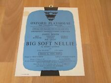 Roy KINNEAR & Bob GRANT in BIG Soft NELLIE 1961 OXFORD Playhouse Theatre Poster