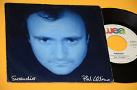 """7"""" 45 PHIL COLLINS SUSSUDIO / THE MAN WITH...ORIG ITALY 1985 EX"""