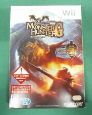 Nintendo Wii -  Monster Hunter G + 3(tri) tryal disk - sealed new. JAPAN. 53310