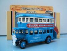Lledo Promo LP15 D/D AEC Regent Bus Bradford Industrial Museum World of Industry